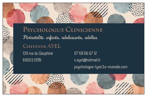 Exceptionnel Cheyenne Ayel, psychologue clinicienne à Lyon 3 NU17